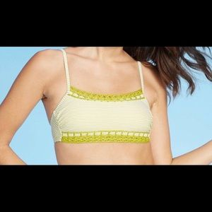 NWT Juniors Xhiliration Bralette Bikini Top